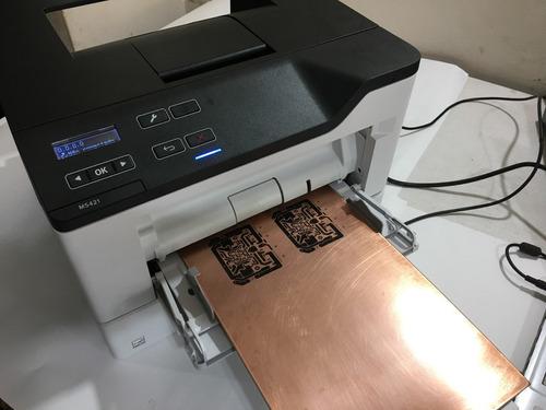impressora para circuito impresso - printer pcb