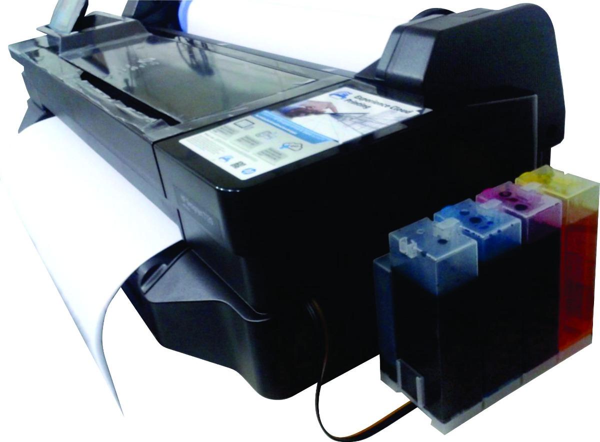Impressora Ploter Hp T120 Rolo 61cm E Folha Até A1 + Bulk - R  4.989 ... 0ee1066c36
