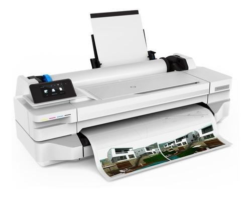 impressora ploter hp t130 61cm a1 + bulk + kit tinta + papel