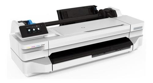 impressora ploter hp t130 a1 ou rolo 61cm + bulk pigmentada