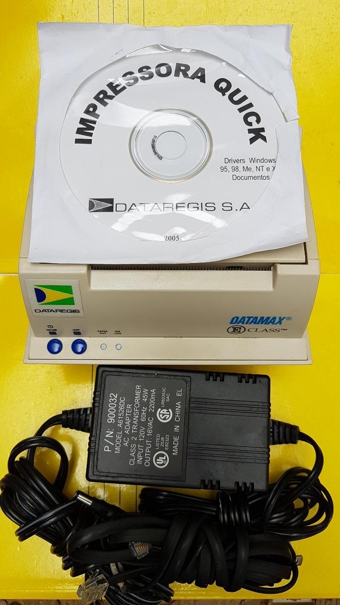 Impressora quick dataregis eclass termica fonte cd insta r carregando zoom stopboris Images