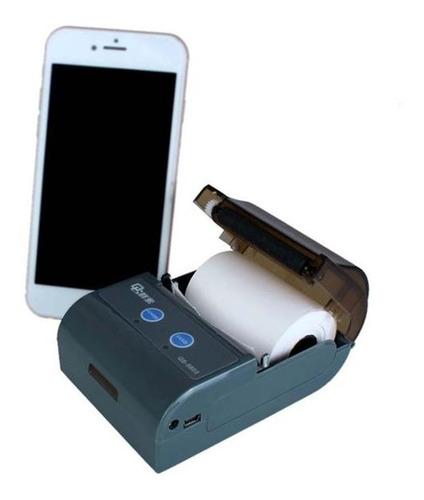 impressora térmica 58mm bluetooth c58 usb q code android ios