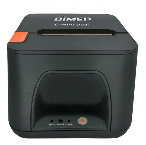 impressora termica cupons dimep d-print dual usb + rede eth