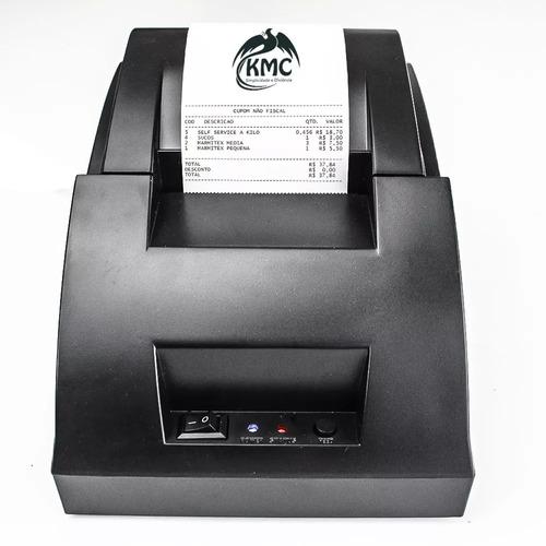 impressora termica de cupom ticket não fiscal 58mm original