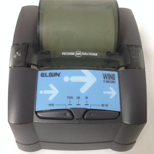 impressora térmica elgin serial tp3000