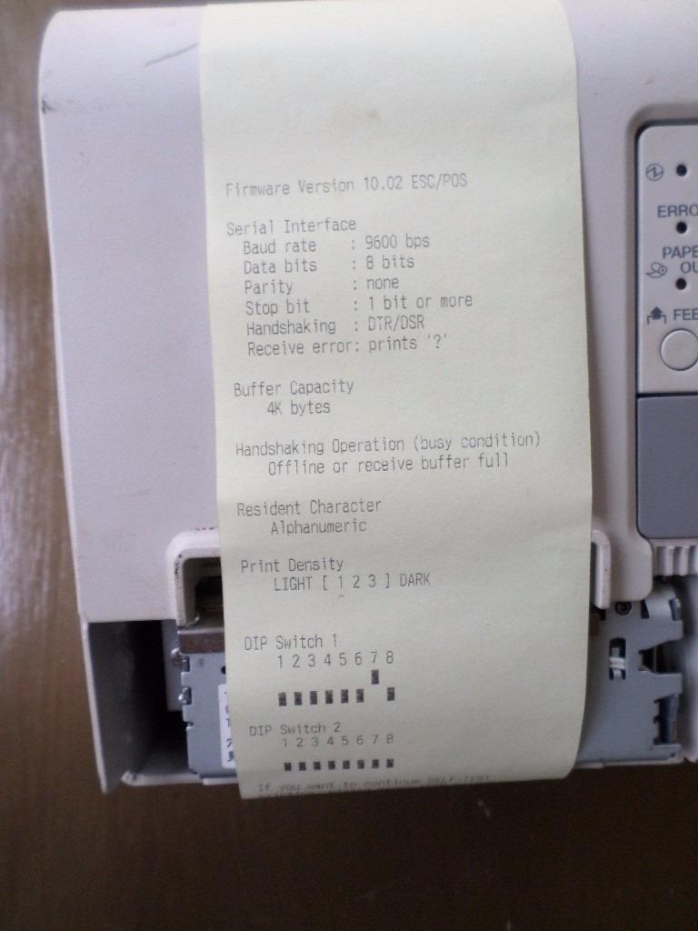 Impressora Térmica Epson Tm T88v Lpt1