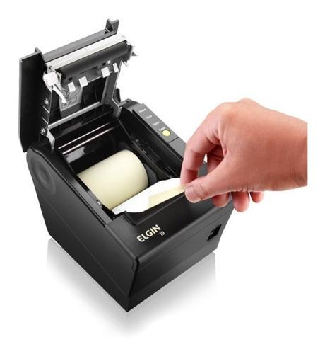 impressora termica não fiscal elgin i9 rede ethernet e usb
