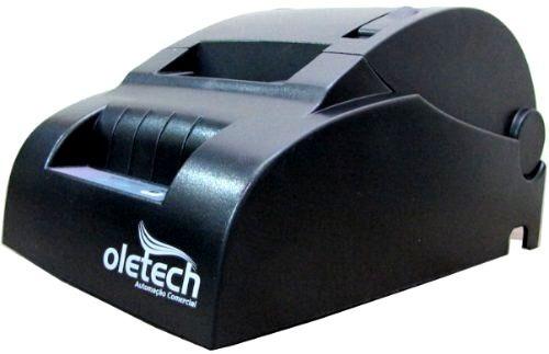 impressora térmica serial cupom não fiscal 57mm oletech
