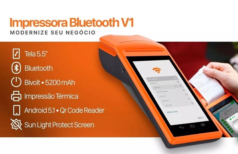 Impressora Térmica Sunmi V1 Pos Android