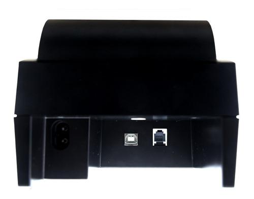 impressora térmica usb 58mm ticket cupom não fiscal+1 bobina