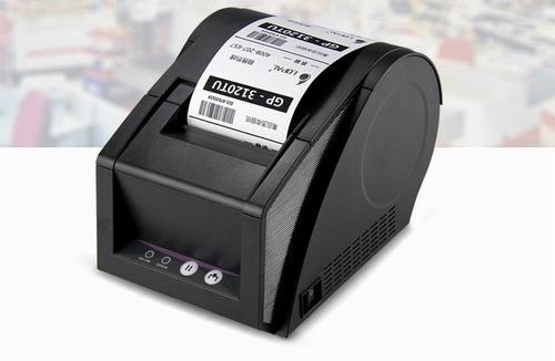 impressora termicas codigo de barras etiquetas qr code p/ pc