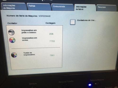 impressora xerox wc 7655 - igual dc 252 - laser color