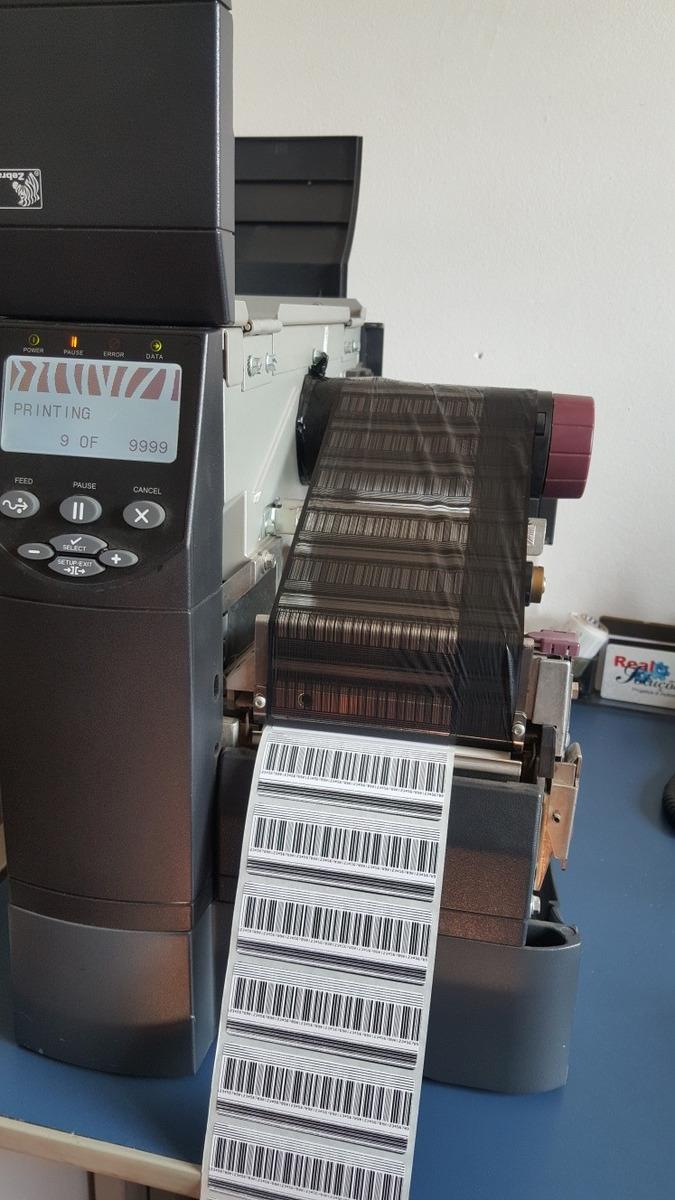 Zebra printer zm400 paper out error