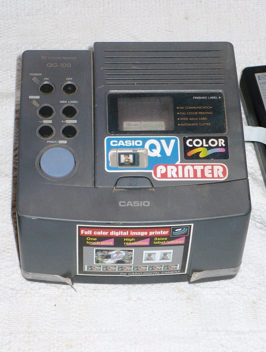 f11714d9359 impressoras casio qg-100 - unica a venda na internet. Carregando zoom.