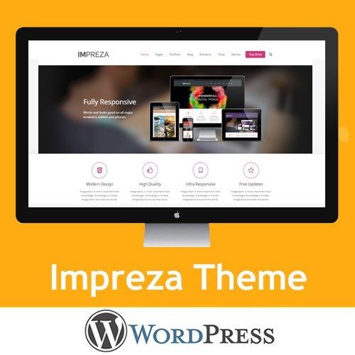 Impreza - Theme, Tema Pro Premium Wordpress - $ 111,00 en Mercado Libre