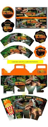 imprimible dinosaurios kit