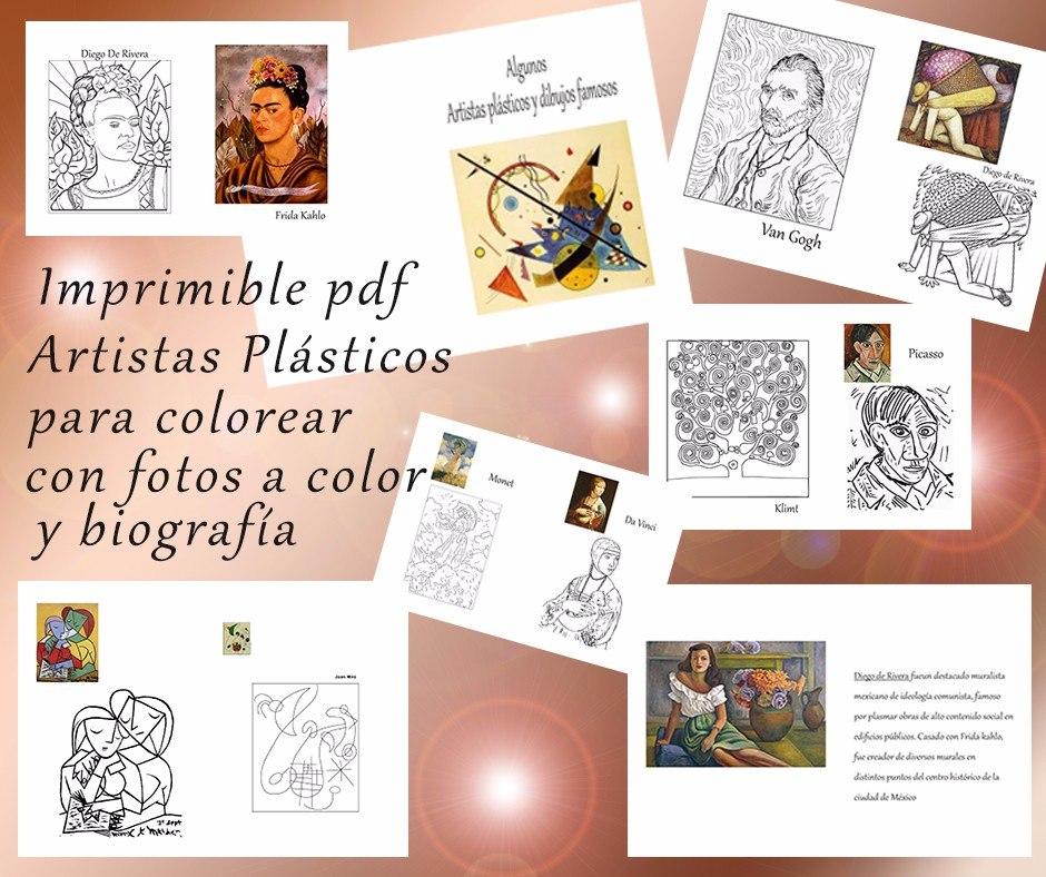 Único Artista Para Colorear Imprimible Fotos - Ideas Para Colorear ...