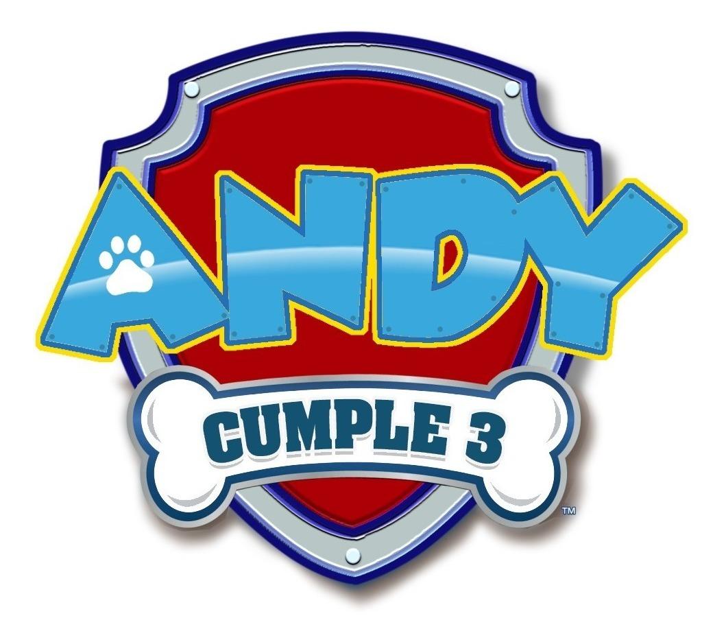 Logo Paw Patrol Personalizado Imprimible Para Fiestas Y ...