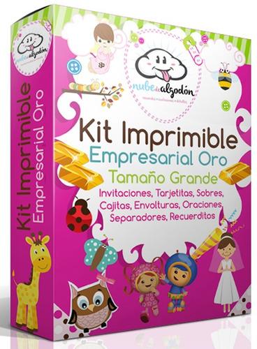 imprimible recuerdos kit