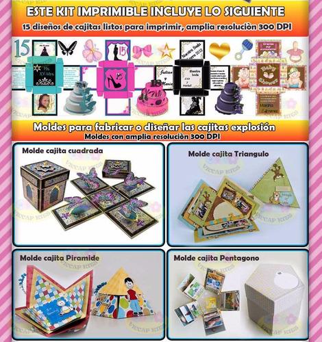 imprimible souvenir kit