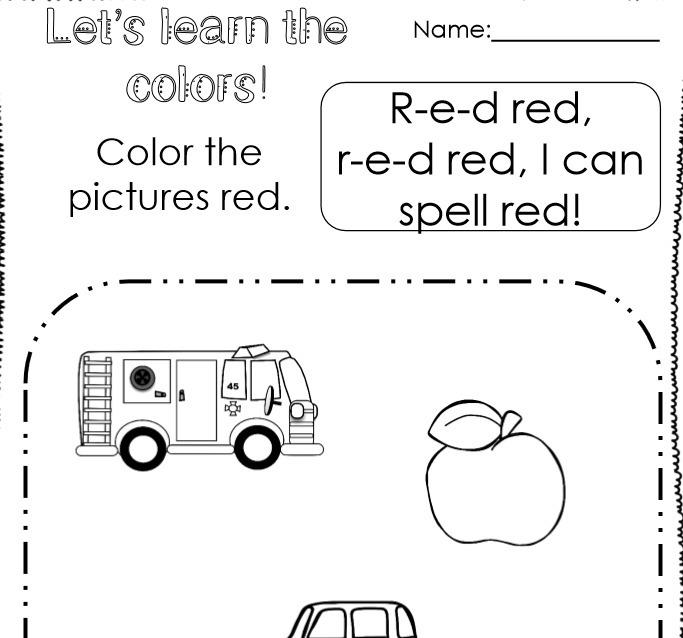 Imprimibles De Preescolar,numero, Colores, Letras, Escritura ...
