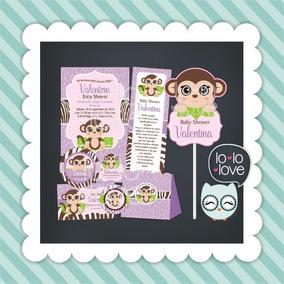 Imprimibles Sin Texto Invitaciones Baby Shower Recuerdos