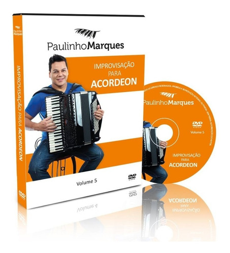 improvisação para acordeon em dvd vol.05