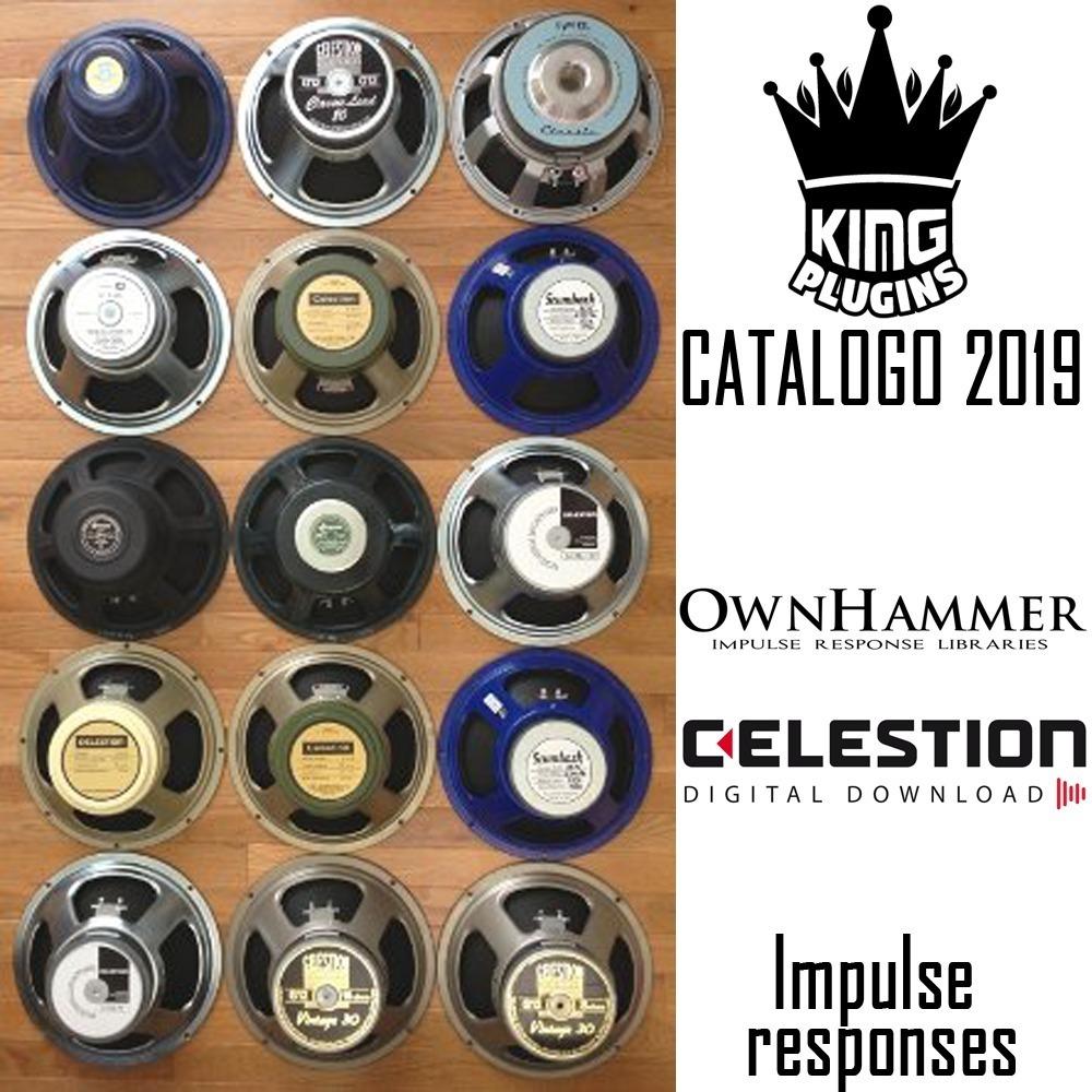 Impulse Responses Catalogo 2019 Ownhammer & Celestion