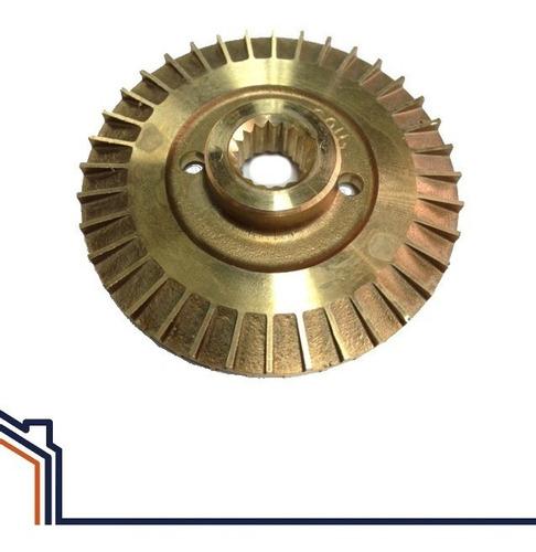 impulsor bronce para bomba 1/2hp pedrollo estriado