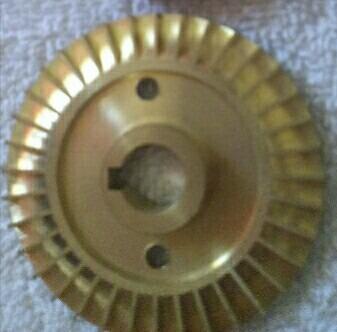 impulsor de 1/2 hp para bomba de agua bronce