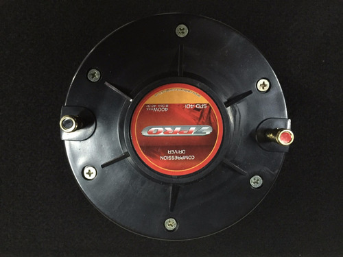 impulsor driver 7pro spd-401 / agudo de 1 pulgada 400 watts.
