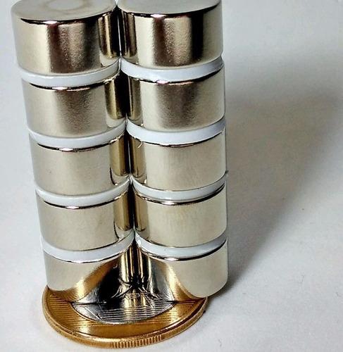 imãs de neodímio / super forte  2 peças  15mm x 8mm