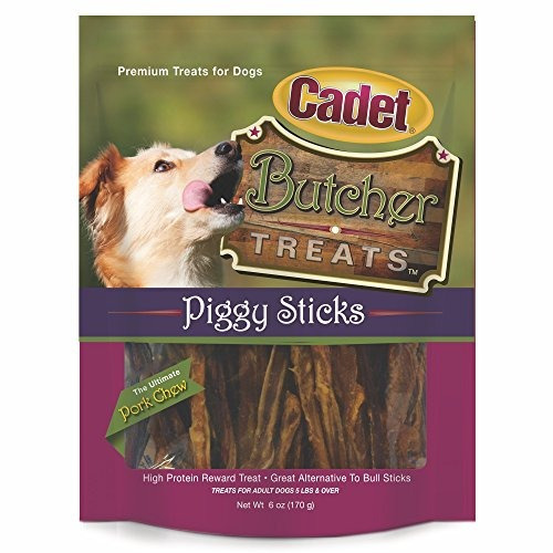 ims pet cadete carnicero piggy stick treat 6 oz