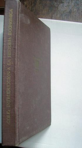 imtroducción a la historia económica g.d.h. cole breviarios