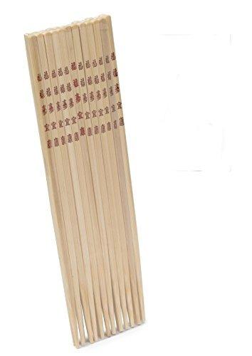 imusa usa wpan-10013 palillos de bambú juego de 6 (12 palil