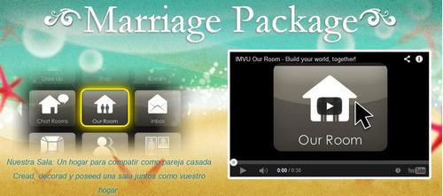 imvu marriage package (paquete de bodas)