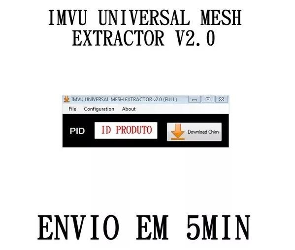 Imvu Universal T3de Mesh Extractor V2 0 (full) - Funcionando