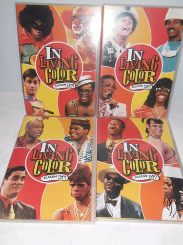 in living color , temporada 2 , serie tv importacion dvd