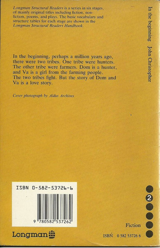 in the beginning - john christopher - em inglês