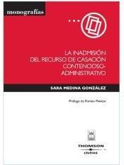 inadmision recurso casacion contencioso administra(libro )