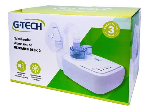 inalador e nebulizador ultrassônico ultraneb desk 2 - g-tech