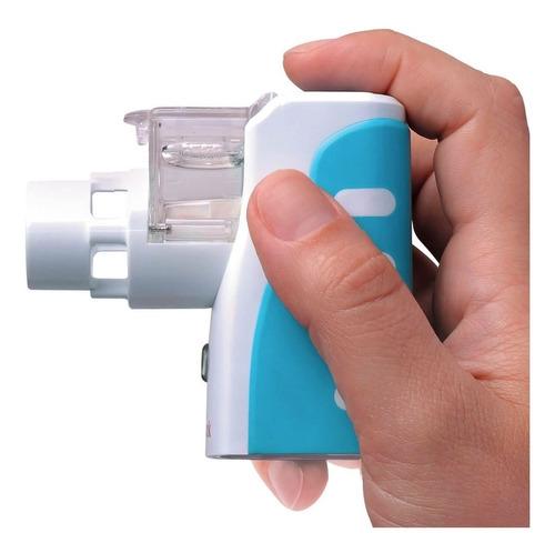 inalador nebulizador portátil nebzmart com rede vibratória
