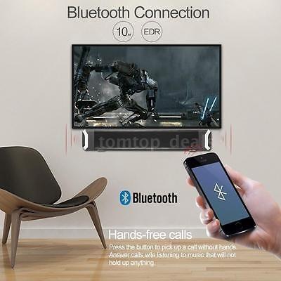 inalámbrica bluetooth tv home teatro altavoz soundbar