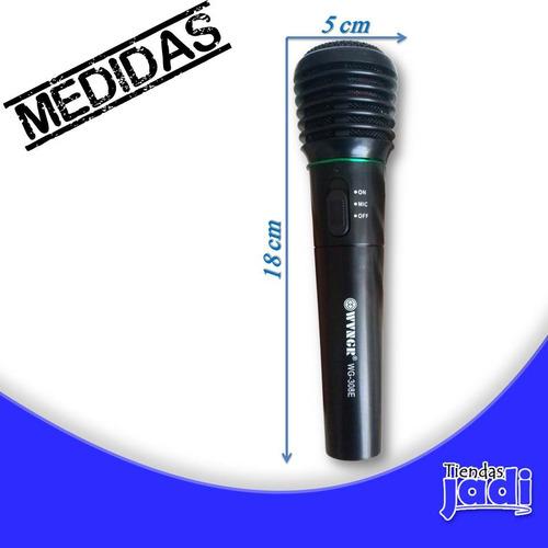 inalambrico alambrico microfono profesional