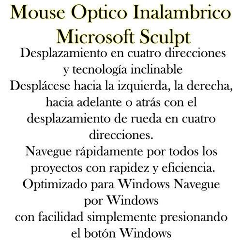 inalambrico microsoft mouse optico