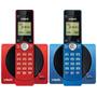 Teléfono Inalámbrico Vtech Azul / Rojo. 100% Nuevo.