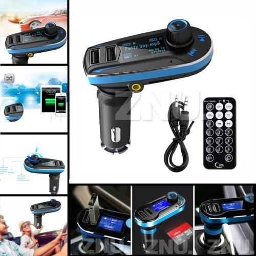 inalámbrico transmisor fm mp3 player car kit usb cargador pa