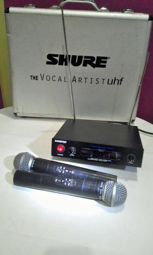 inalambricos shure microfonos