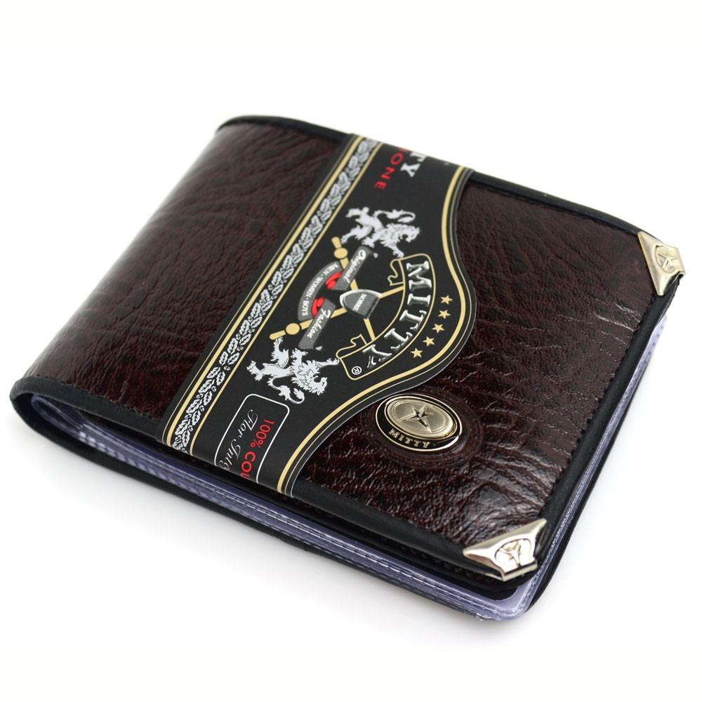 fad381490 inativar carteira masculina couro legítimo lisa mitty m1. Carregando zoom.