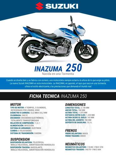inazuma 250 motos moto suzuki